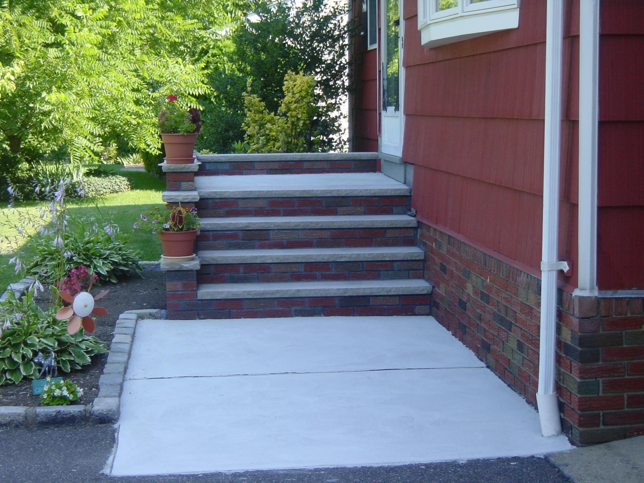 Ganz Masonry Brick Steps