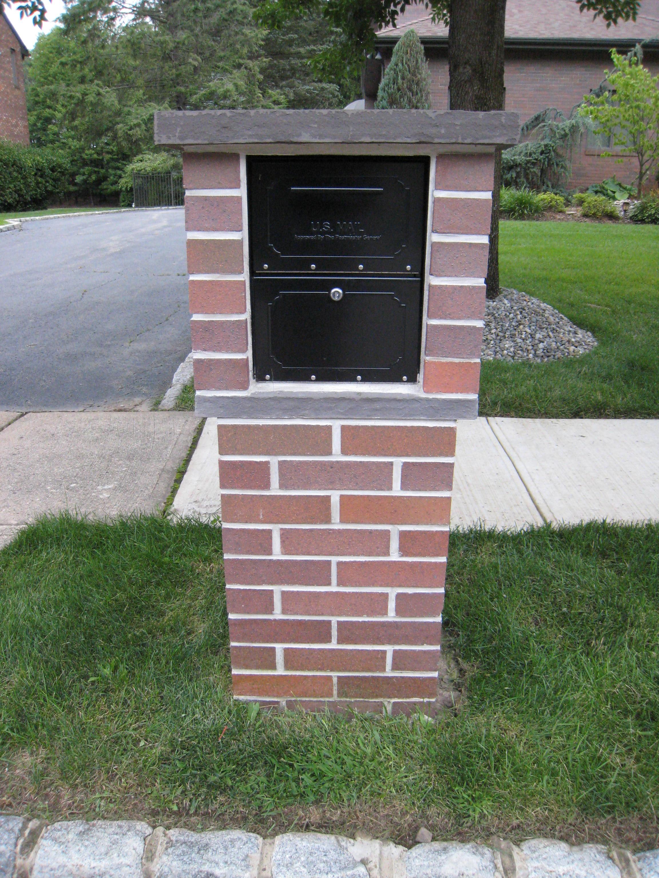 Ganz Masonry Mailboxes